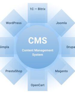 Определить cms сайта
