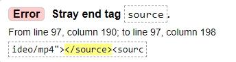 Валидность HTML кода